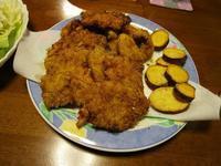 鶏カツ(昨日の夕食) - ごまめのつぶやき