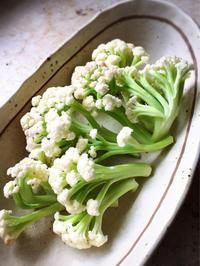 生クリームで茎カリフワラーとお餅のグラタン - Coucou a table!      クク アターブル!