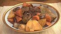 夫の料理3食:お洒落な料理と大胆な料理 - コテージ便り