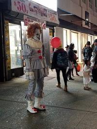 今年のハロウィーン in Astoria - NYの小さな灯り ~ヘアメイク日記~