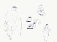 スケッチ - 糸巻きパレットガーデン