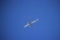 久しぶりに飛行機を撮ってみた。 - 平凡な日々の中で