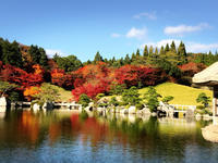 三景園の紅葉。 パート② - るなとゆずと * 私の時間 ♪