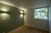 green wallと窓からの景色 - kukka  kukka
