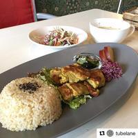 わらふぁーむ 玄米 プレート / Cafe TUBE LANE - bambooforest blog