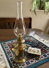 真鍮テーブルランプ なんかにも手を出す(^^ゞ - NILE Saloon Diary