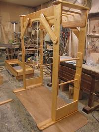 うんていNタイプW1450×H1820×D870 ブランコ式ぶら下がり練習棒 可動式登り棒4本 - MAGINU STYLE by Art Furniture Gallery