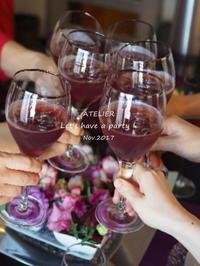「11月のテーブルコーディネート&おもてなし料理レッスン」全日程を終了しました♪ - ATELIER Let's have a party ! (アトリエレッツハブアパーティー)         テーブルコーディネート&おもてなし料理教室