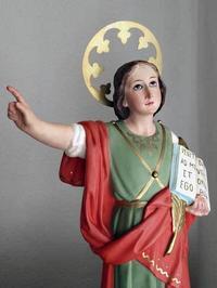 少年聖人像 セント・パンクラス 聖パンクラティウス      /E393 - Glicinia 古道具店