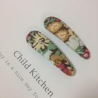 リバティthorpeソープ「パッチンピン」baseに出品しました! - child_kitchen