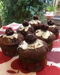 ダークチョコとダークチェリーのケーキ - 調布の小さな手作りお菓子・パン教室 アトリエタルトタタン