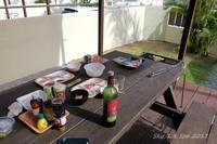 ◆ アリビラから本部へ 7 回目の沖縄、その11 「BBQ三昧」 (2017年7月) - 空と 8 と温泉と