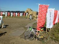 「飯田ダム」を目的地としてポタリング - 自転車走行中(じてんしゃそうこうちゅう)