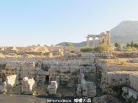 古代コリントスの北のマーケット - 日刊ギリシャ檸檬の森 古代都市を行くタイムトラベラー
