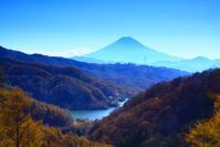 29年11月の富士(8)上日川峠の富士 - 富士への散歩道 ~撮影記~