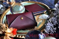 イタリアンバケッタ・ミネルバリスシオ・コインキャッチャー財布・L型財布 - 時を刻む革小物 Many CHOICE~ 使い手と共に生きるタンニン鞣しの革