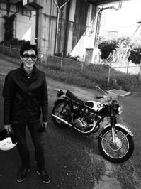 佐久間 達也 & HONDA CB450K1(2017.10.01) - 君はバイクに乗るだろう