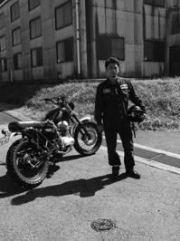 吉田 孝則 & kawasaki W650(2017.10.01) - 君はバイクに乗るだろう
