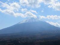 雪が付いた富士山 11/14 - つくしんぼ日記 ~徒然編~