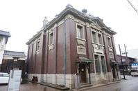 三国町の旧森田銀行本店 - レトロな建物を訪ねて