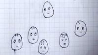 卵の惨劇 - たなかきょおこ-旅する絵描きの絵日記/Kyoko Tanaka Illustrated Diary