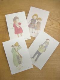 石田悦子さんのポストカード - 届けられたもの