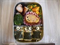 ミニオンズ弁当 - cuisine18 晴れのち晴れ