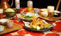 海老と牡蠣のMIXフライ! - ワタシの呑日記