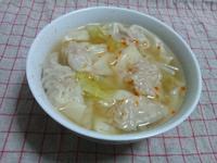 ワンタン野菜スープ - Minha Praia