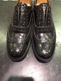 ガラスレザーにも実は・・・ - ルクアイーレ イセタンメンズスタイル シューケア&リペア工房<紳士靴・婦人靴のケア&修理>