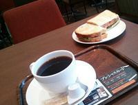 サンドイッチ系も少し上行くといいんだけどな~。上島珈琲店@東上野店 - はじまりはいつも蕎麦