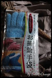 ティッシュカバー&お掃除手袋、、、 - Salt&Orange時々Pepper