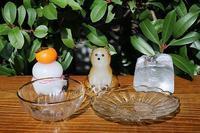 香川県綾歌町の田井将博(Glass tai.m)さんから置物、一輪挿し、うつわが届きました。(2017年11月15日) - 器楽ni憩う