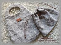 『 minä perhonen 』 の生地でバッグを!! - pincushion