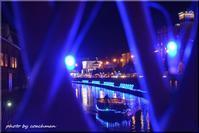 小樽運河の青色LED - 北海道photo一撮り旅