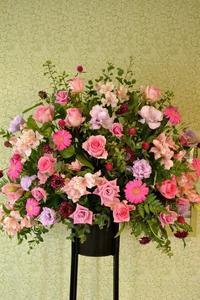ピアノの発表会に♪*スタンド花* - 花色~あなたの好きなお花屋さんになりたい~