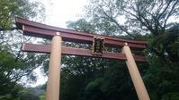 神社の鳥居 - ヨモギ日記