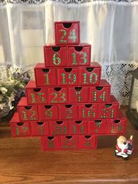 カウントダウンカレンダークリスマスツリー - まましまのひとり言