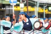 よさこい東海道2017その3 - 長い木の橋