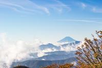 初秋の秘湯旅雲取山三条の湯 - 荒野にて