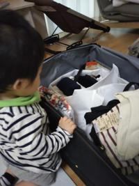 赤ちゃん連れの旅のパッキング - こうちゃんとやりたいことリスト