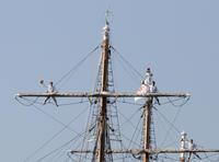 練習帆船登しょう礼 - モクもく写真館