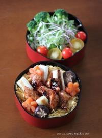 焼き鳥丼 ✿ 石焼ビビンバ(๑¯﹃¯๑)♪ - **  mana's Kitchen **