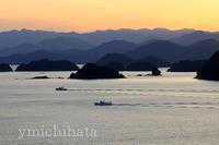 熊野灘の夕暮れ - みちはた写真館フォトギャラリー
