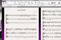 BWV998 fugue - 只管打楽