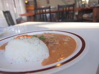 ポークストロガノフ:クランカフェ(黒石市) - 津軽ジェンヌのcafe日記