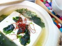 わかめ湯豆腐♪ - ☆ぼちぼち…お家ごはん☆