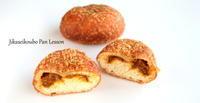 ぶどうミックス酵母で作る「ブルベリーベーグル」と「和牛カレーパン」 - 自家製天然酵母パン教室Espoir3n(エスポワールサンエヌ)料理教室 お菓子教室 さいたま