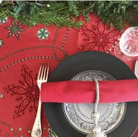 クリスマスのテーブルコーディネイトレッスン - Table & Styling blog