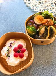 酢鶏と塩鯖弁当とボジョレー - ほんわか~ゆったり